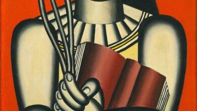 Fernand Léger - Woman with a Book