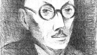 Theodore Strawinsky Portrait de Jouve 1945 Co Fondation Theodore Strawinsky e1514242277697 مُقتطفات من شِعر بيير جان جوف