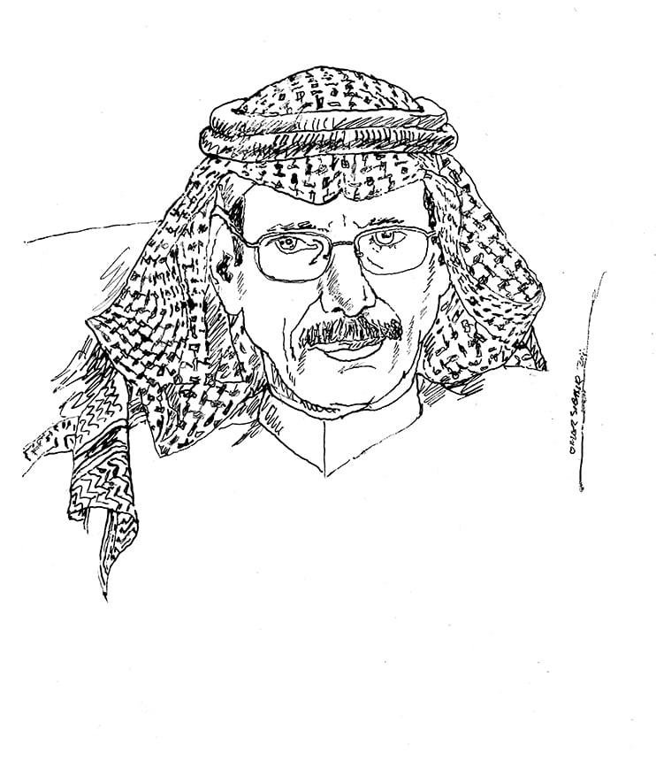 a026fd03 hasan alsaba وداعاً حسن السبع.. تغيب وتبقى ضحكتك بيننا ويظل صوتك عامراً ما بقي الحرف