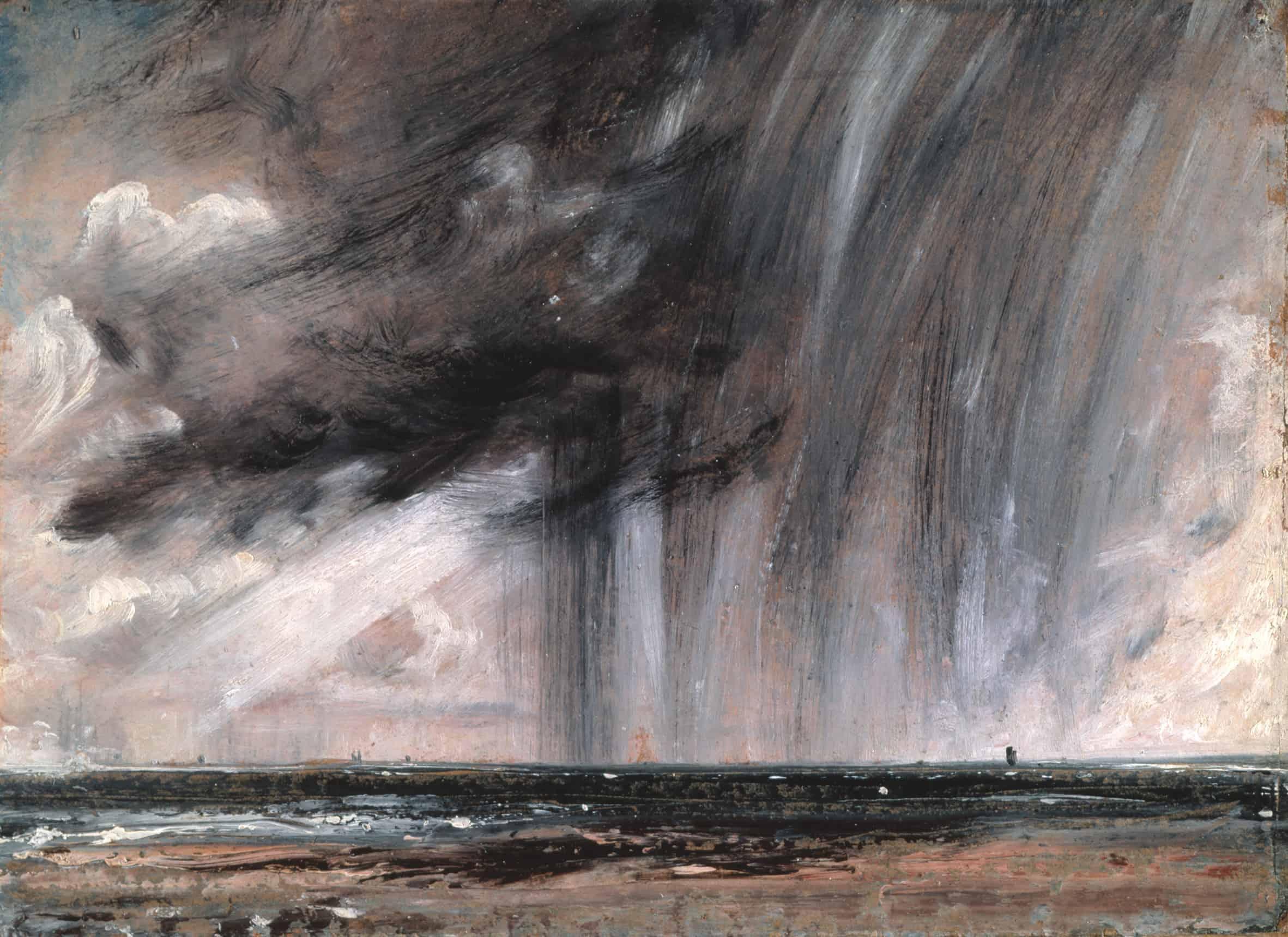 rainstorm over the sea 1828 1 سهراب سبهري - وقع خطوات الماء