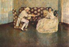 silence indoors 1900 السكون لـ فيكتور بوريسوف موساتوف