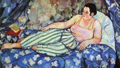 the blue room 1923 scaled الغُرفة الزرقاء لـ سوزان فالادون