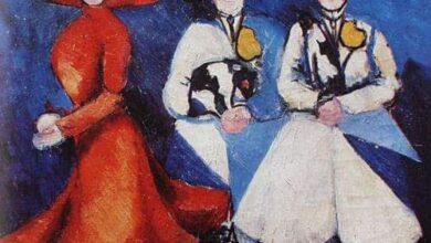 three female figures 1910 نص من رواية منتجع الساحرات - أمير تاج السر