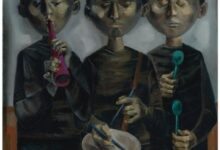 untitled 1960 محمد بنميلود - الليل الذي يعقب نهاية الدكتاتور