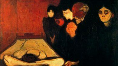 by the deathbed fever 1893 أموتُ، والناسُ نيامٌ - محمد عيد إبراهيم