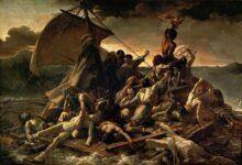 the raft of the medusa 18191 شروق حمود - أرى العالم يحترق