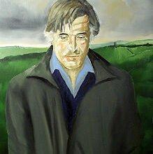 16426018 poet ted hughes profile art مختارات من قصائد تيد هيوز