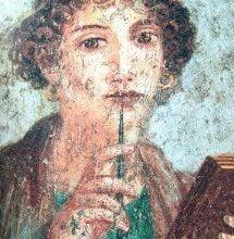 17fbc584ca9b50cdb8fe019fee3d7256 pompeii italy ancient greece سافو - رحيق