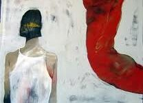 Bahram Hajou Syrian Artist45 1 سمية الحاج عيد - لاجئة بك.