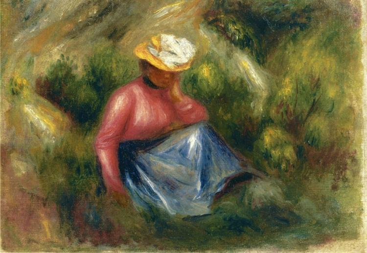 seated young girl with hat.jpgLarge سعاد الصباح - تحت المطر الرمادي !