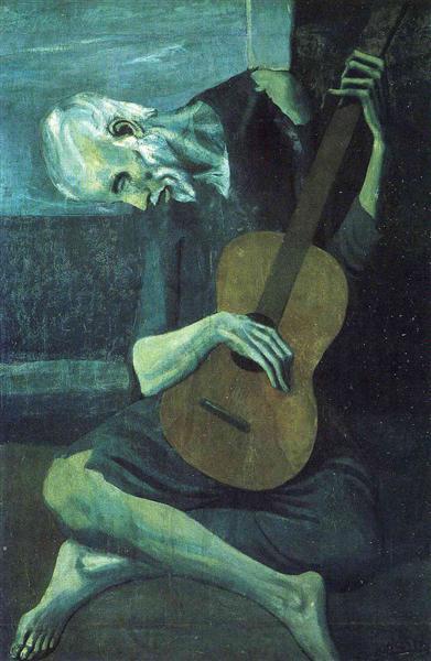 the old blind guitarist 1903.jpgLarge قصيدة نحن بخير لــ شاكر السيّاري ترجمة أشرف القرقني