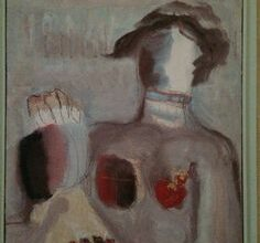 Fateh Al Moudarres 1997 محاولة حائط للتعبير عن قلقه - سلمان الجربوع