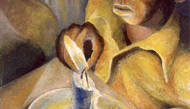 "Gerard Sekoto boy and the candle 1943 آخين ولات - ""شيفا ناتاراجا"""