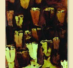 Nazir Ismail Syrian Artist ليل عميق - أنطوان شحرور