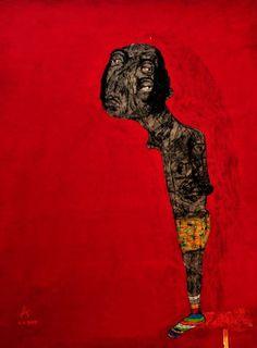 Sabhan Adam Syrian Artist القصيدة - رولف ديتر برينكمان