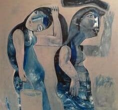 Talal Moualla Syrian Artist1 ما حصل - فلاديمير ماياكوفسكي