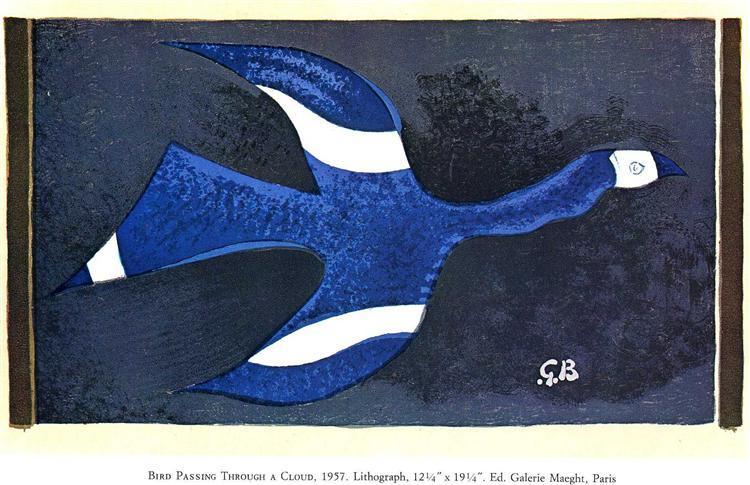 a bird passing through a cloud 1957.jpgLarge تشارلز بوكوفسكي - طائر أزرق - ترجمة : عبود الجابري