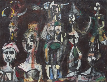 carnival figures 1952 يوجين يونسكو - نحن فريسة للشرّ