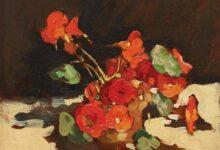 cup with geraniums قصائد مختارة لـ أدريان ريتش