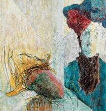 double self portrait 1985.jpgPinterestSmall صبا قاسم - رأسي مقبرة جماعية