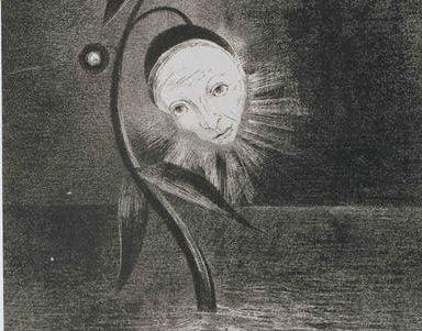 flower of the swamp a head human and sad 1885.jpgLarge e1525611732471 فروغ فرخزاد - غروب أبدي