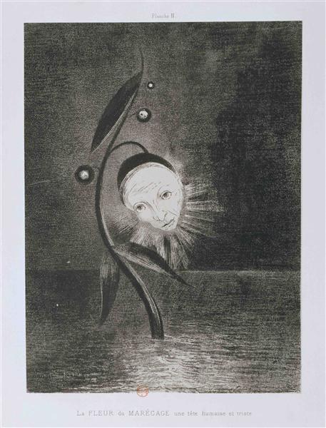 flower of the swamp a head human and sad 1885.jpgLarge فروغ فرخزاد - غروب أبدي