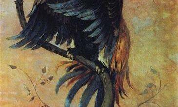 gamaun the prophetic bird 1897.jpgLarge تيد هيوز - الصقر جاثماً | ترجمة : ياسين طه حافظ