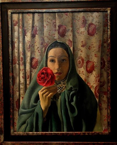 lady with roses 1937 فلورنس أنتوني ( آي ) - سالومي   ترجمة: عابد إسماعيل