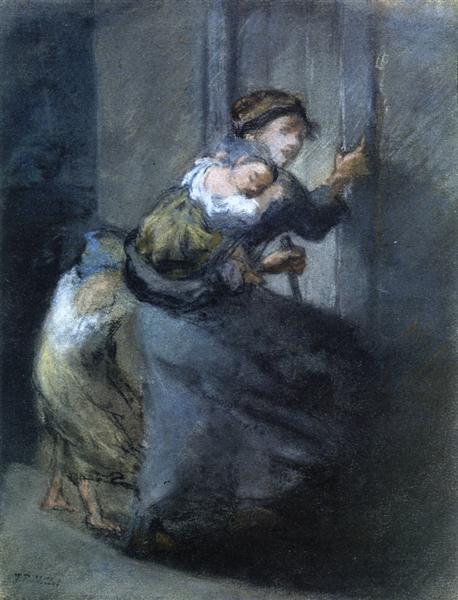 mother and two infants.jpgLarge شاكر مجيد سيفو -  أمي وقيامة الرغيف