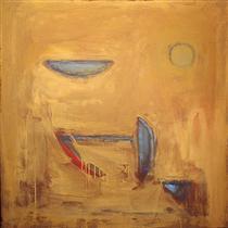 objects on ochre 1989.jpgPinterestSmall قصائد مختارة للشاعر الأرجنتيني روبيرتو خواروس