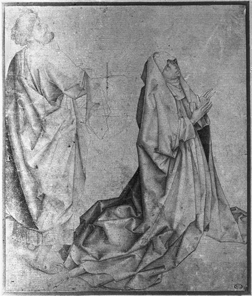 the virgin kneeling and praying behind st peter.jpgLarge أودري لورد - صلاةٌ من أجل البقاء