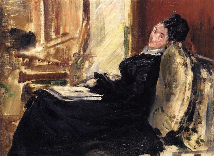 young woman with a book 1875.jpgLarge مظفر النواب - قراءة في دفتر المطر