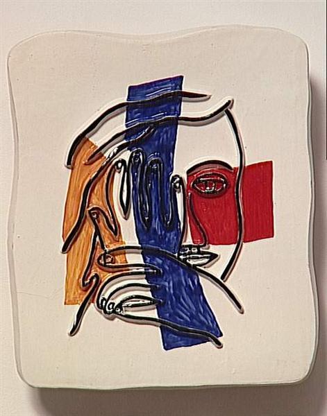 face with both hands 1954.jpgLarge أمل عبد الحميد بنّود - وجهي ايضاً لا يخلو