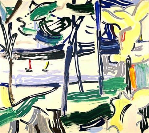 sailboats through the trees 1984 إيهاب خليفة - عبـروا