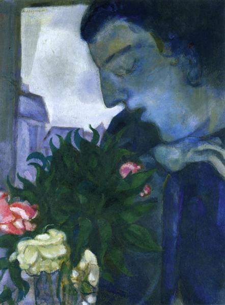self portrait in profile 1914.jpgLarge جمعة عبد الله الموفق - أنا الهراوة العظيمة على اقفيتكم