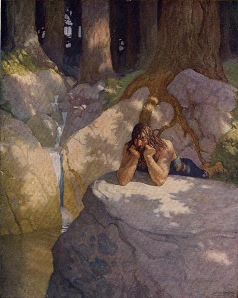 sir launcelot in the wilderness after leaving the round table.jpgLarge عبد الكريم قذيفة - إلى إمرأة لاتجيء