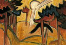 sun over the pine forest 1913 تشارلز بوكوفسكي - لا أحدَ إلَّا أنت |ترجمة: شريف بقنه