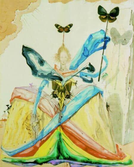 the queen of the butterflies ويليام ووردزوورث - إلى فراشة