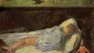 young girl dreaming study of a child asleep 1881.jpgLarge صلاح عبد الصبور - رؤيـا