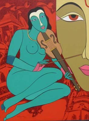 Krishna Ashok2 1 إنني أغني أغنية جديدة - أتال بيهاري فيجبابي