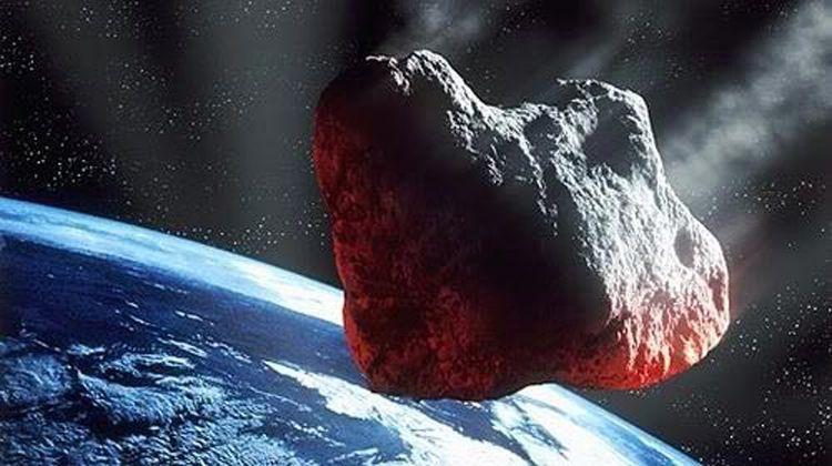 An artists illustration of an asteroid كويكب آخر يقترب من الأرض، هل هو مصدر تهديد؟