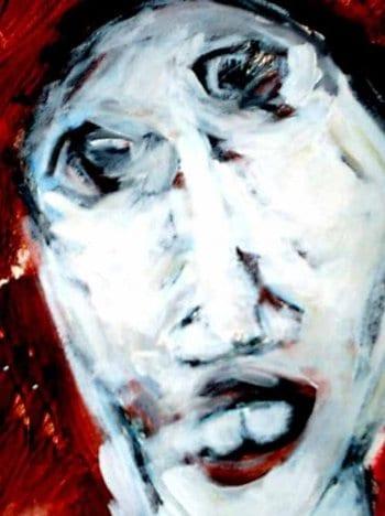 لوحة: الفاخري القذافي