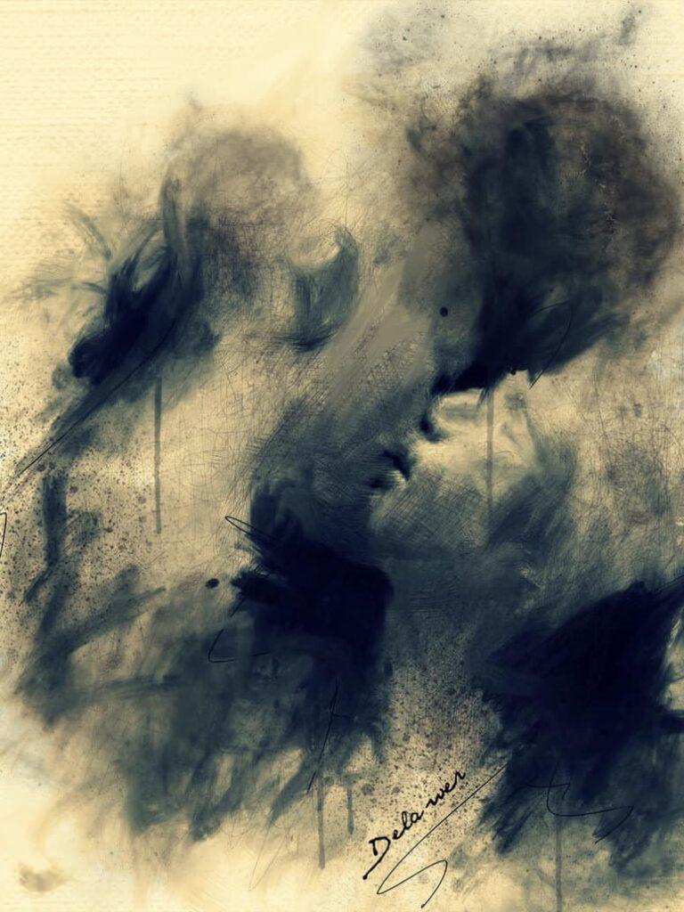 Art Work: Silent Love by Delawer Omar