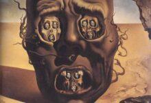 لوحة: وجه الحرب - سلفادور دالي 1941