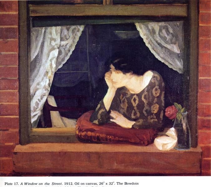 a window on the street 1912.jpgLarge تامر الهلالي - المتأنقة الحزينة