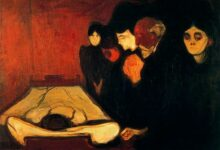 by the deathbed fever 1893 1.jpgLarge 1 أوكتافيو باث – قبرُ شاعر