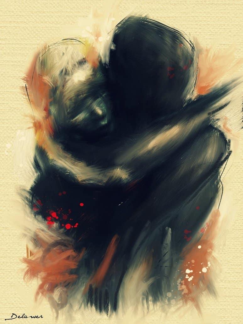 Don't leave by Delawer Omar
