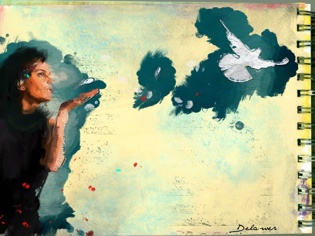 farinaz the torch of freedom by delawer omar خورخي لويس بورخيس - إلى قطة