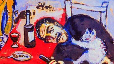 man at table 1911.jpgLarge ياسين عاشور - المالينخولي السّعيد (5) - اعتزالُ الفِتَنٍ