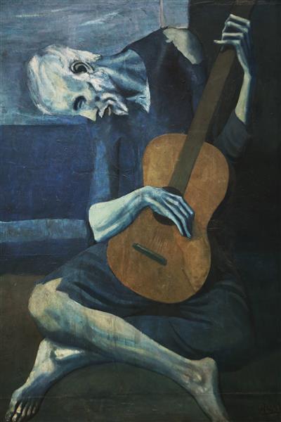old guitarist chicago.jpgLarge ياسين عاشور - المالينخولي السّعيد (7) - الظُّلمةُ باهرةٌ ولا حاجة إلى الشّموع